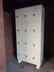 Steel 12 Door Employee Locker with Keys