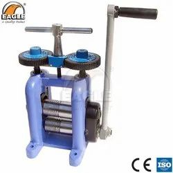 Eagle Jewellery Hand Power Rolling Mill Italian Type For Goldsmith