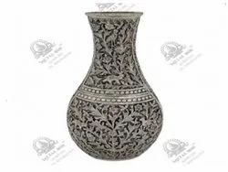 Round Decorative Silver Plated Artifacts