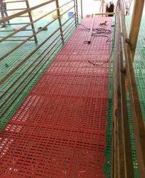Plastic Slatted Flooring Installation Service