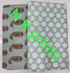 Ledies Kurti Cotton Printed Camrik Fabrics