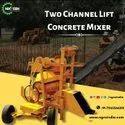 Two Leg Concrete Lift Mixer Machine