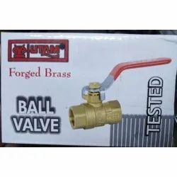 1/2 Inch Utam Forged Brass Ball Valves