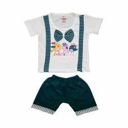 Half Sleeve Top Pant Set For Baby Boys