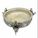 Silver Plated Urli For Wedding Decoration & Corporate Gift
