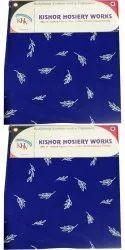 Ladies Kurti Cotton Fabric, Digital Prints, Blue