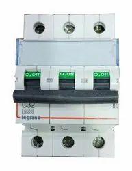 Legrand Three Phase MCB Switch Gear