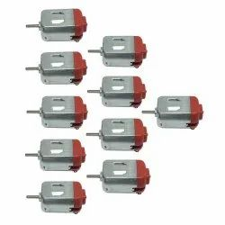 Techwiz Small Motor DC 3-9V Ultra High Speed DIY Hobby Remote Control Toy Car 10pcs.- Multi Color