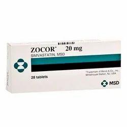Zocor 20mg Tablet Simvastatin