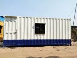 PORTABLE CABIN WITH PARTITION
