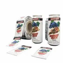 Digital Multicolor Shrink Lable