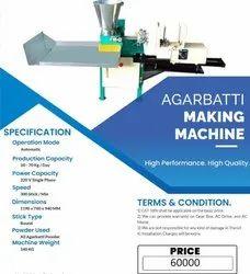 Round Agarbatti Making Machine