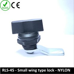 Verix Plastic, Metal Knob Type Nylon Lock, For Doors