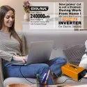 Coolnut 240000mAh Power Bank/Mini Inverter/Power Backup