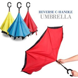 Reversible C Handle Umbrella