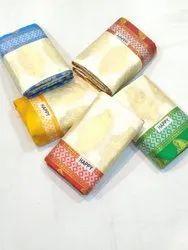 HAPPY PRINTS Party Wear Bomkai Silk Saree, 6.3 m (with blouse piece)