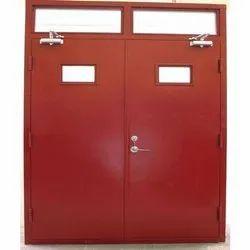 Mild Steel Color Coated Fire Resistant Door