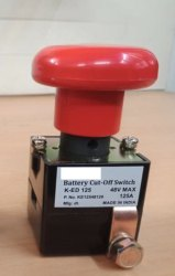 DC Battery Cut Off Emergency Switch 125A 48V