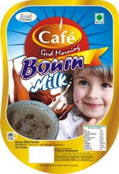 Whitish Rectangular Bourn Milk, pouch
