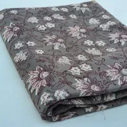Vandana Handicraft Blue Dabu Printed Cotton Fabric, GSM: 100 GSM