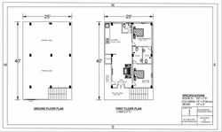 Living Room Interior Building Planning And Drawing Service, in hyderabad, 500