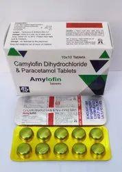 Amcamylofin Dihydrochloride & Paracetamol tablet ylofin