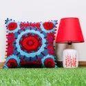 Suzani Cotton Fabric Cushion Cover