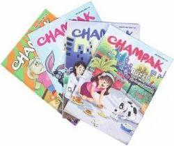 Champak Puzzle Children Book, English