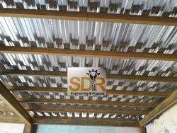 Metal Departmental Store Racks