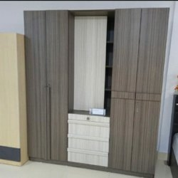 Moss Brown Wardrobe, For Home, Model Name/Number: 609