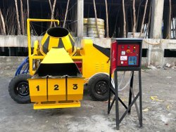 3 Bin Digital Concrete Mixer