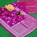Multicolored Banarasi Silk Dupattas