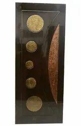 Interior Teak Wood Carving Door, For Home, 7 X 3.5 Ft