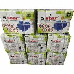 5Star 3HP Single Phase Motor Packed
