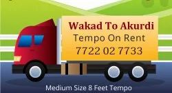 Wakad To Akurdi Tempo Service Near Me Tempo On Rent Tempo On Hire Packers Movers