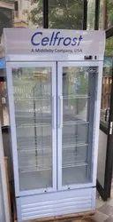 Double Door Upright Showcase Cooler