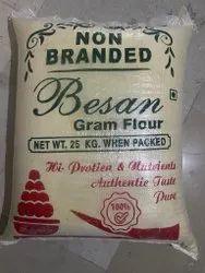 Indian Gram Flour Chana Besan, 25KG, Packaging Type: Printed Bag