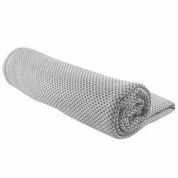 Microfiber Plain Strauss Cooling Towel, 80 cm, (Grey) ( ST-1604 )