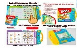 Interactive Children Book -Musical English Educational Phonetic Learning Book Multi Color