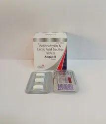Azithromycin 500 Mg + Lactic Acid Bacillus 60 Millons Spores
