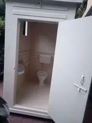 Frp Portable Modular Toilet With Bathroom