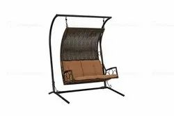 Metal Swing Chair, For Outdoor, Seating Capacity: 2 Seater