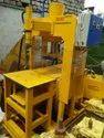 Hand Operated Concrete Block & Bricks Making Machine