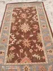 Multicolor Woolen Hand Knotted Carpets, For Home, Size/Dimension: 5x8