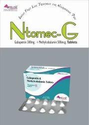 Mecobalamin 500 mcg  Gabapentin 30mg Tablet