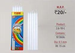 Plain Candles 2.6-10-L