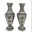 German Silver Flower Vase For Decoration & Gifting