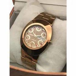 Rado Gold Ceramic Wrist Watch