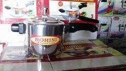 Plan Regular Silver Pressure Cooker, For Home, Capacity: 2 Liter