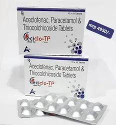 Acelofenac Paracetamol Thiocolchicoside4mg